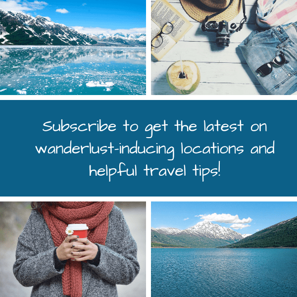 Subscribe to get the latest on wanderlust-inducing locations and helpful travel tips! 600